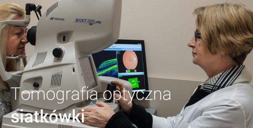 tomografia optyczna siatkówki